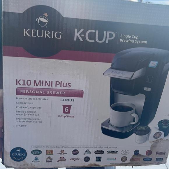 Keurig k- cup k10 mini plus perosnal brewer